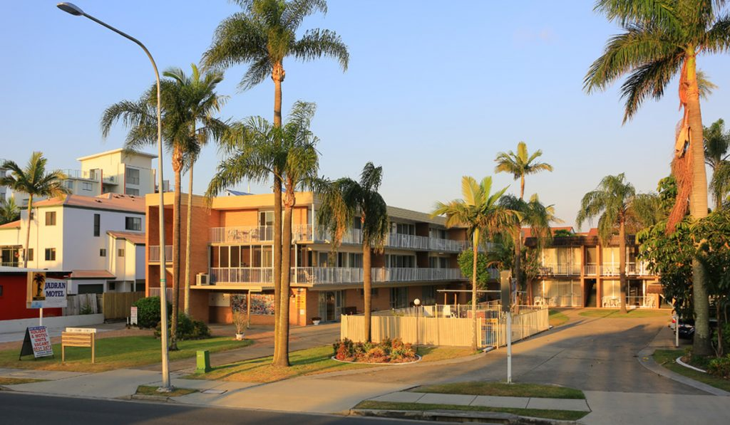 north gold coast accommodation